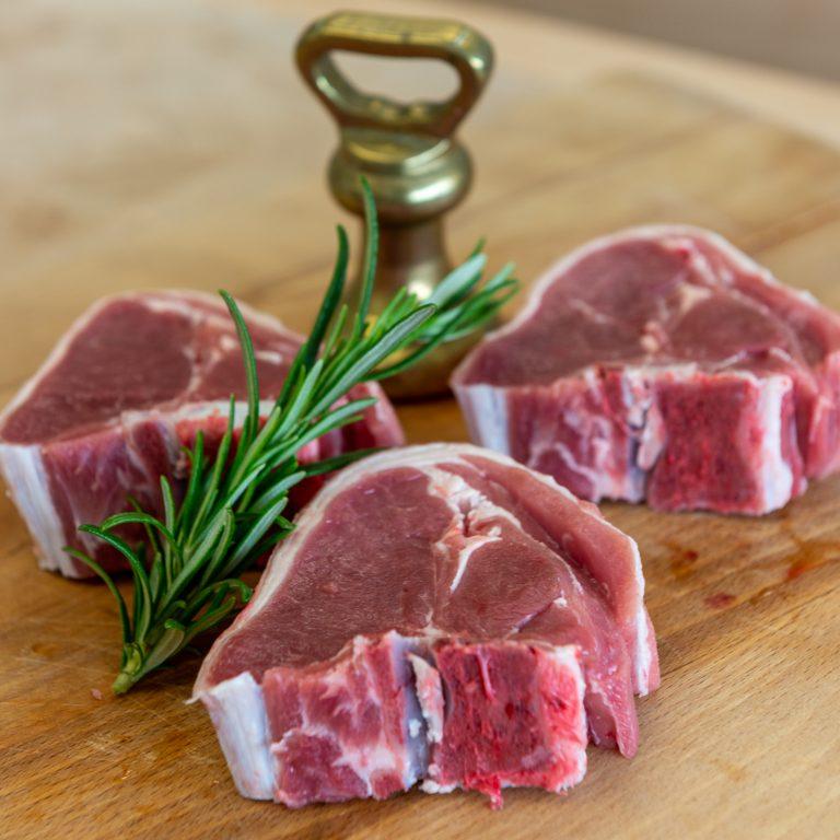 3 Lamb Chops