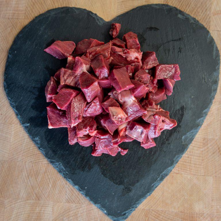 Diced Ox Heart