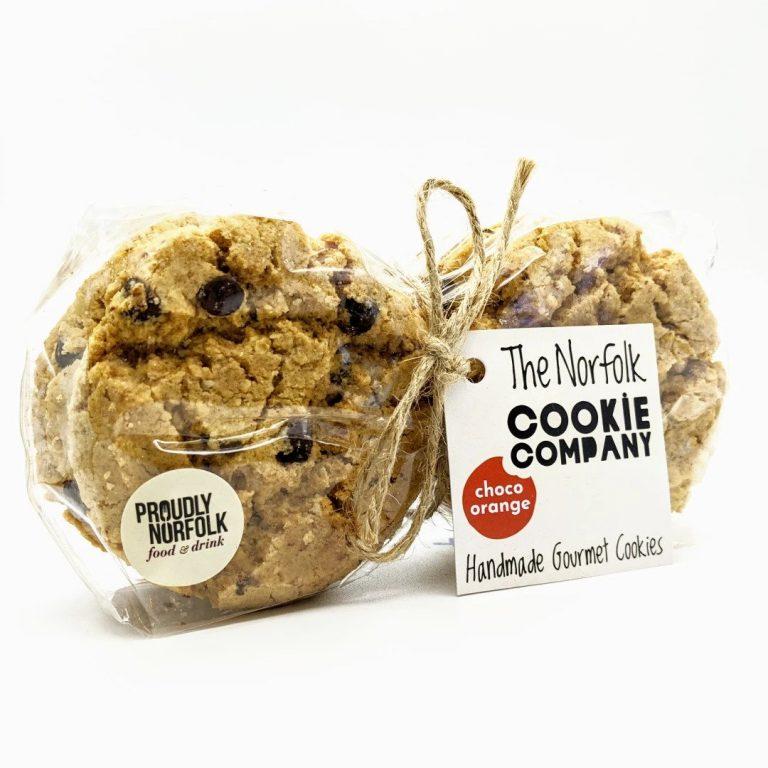Norfolk Cookie Company - Choc Orange Cookies