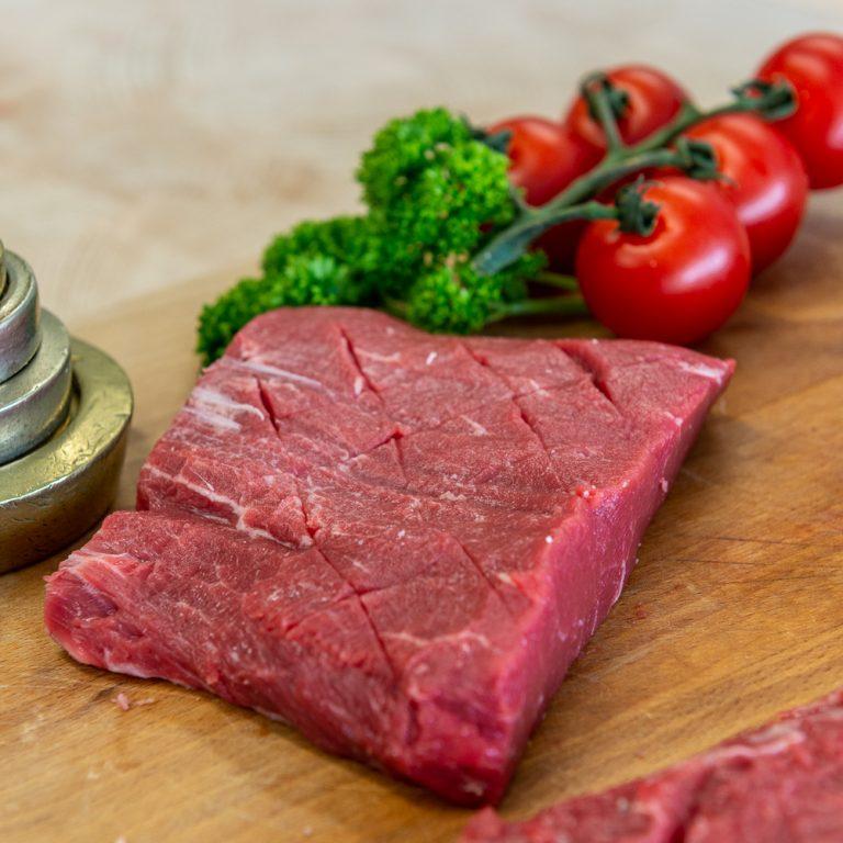 Flat Iron Steak Scored
