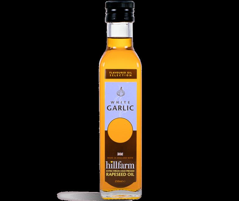 Hillfarm White Garlic Oil
