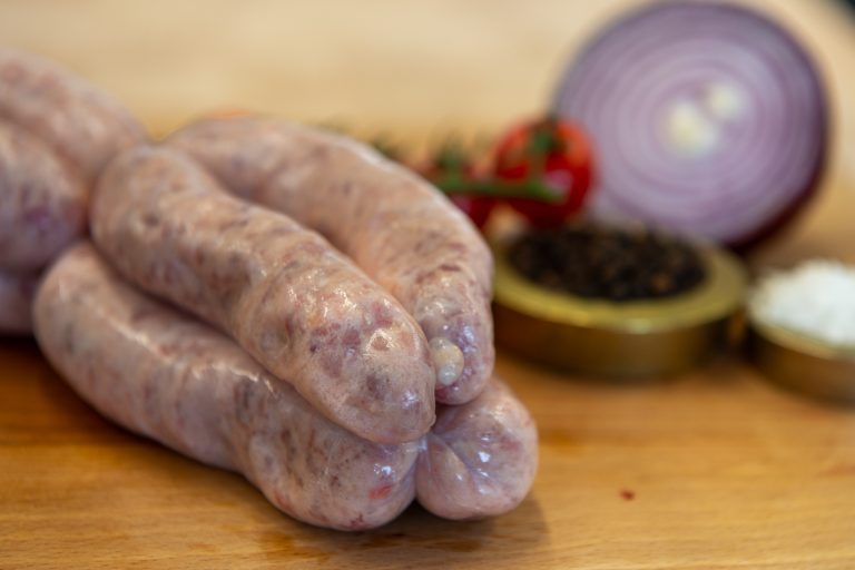 Intwood Classic rare breed pork sausages