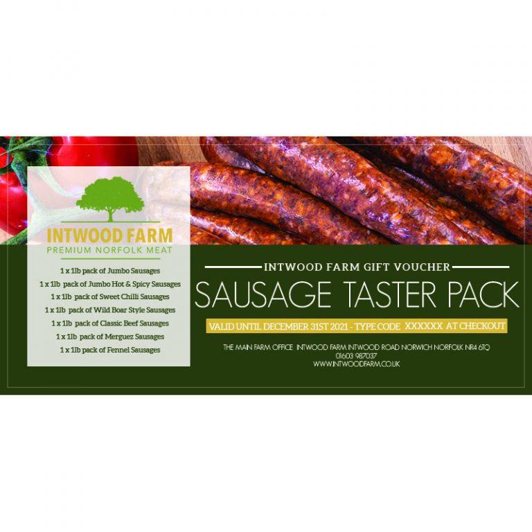 Intwood Farm Sausage Taster voucher