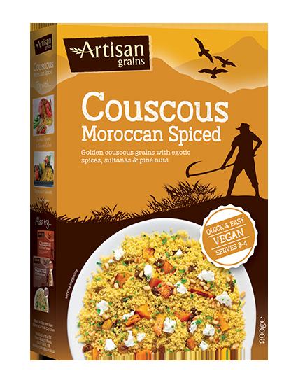 Artisan Grains Moroccan Spiced Cous Cous