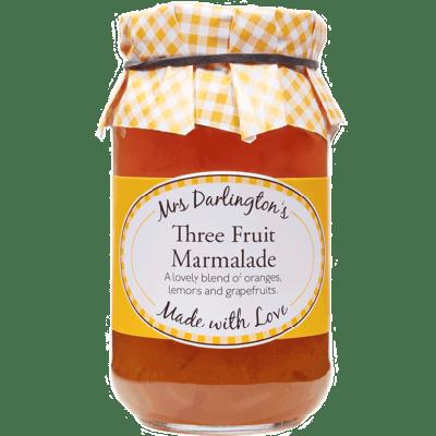 Mrs Darlington's Medium Cut Three Fruit Marmalade