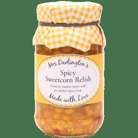 Mrs Darlingtons Spicy Sweetcorn Relish