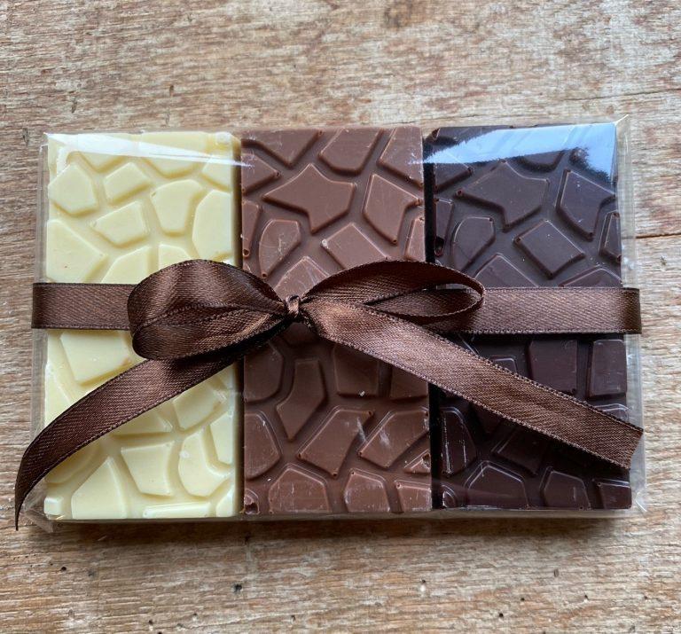 Lifetime of Chocolate Trio Of Tasting Bars 2