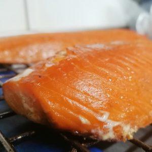 side of kiln roasted salmon