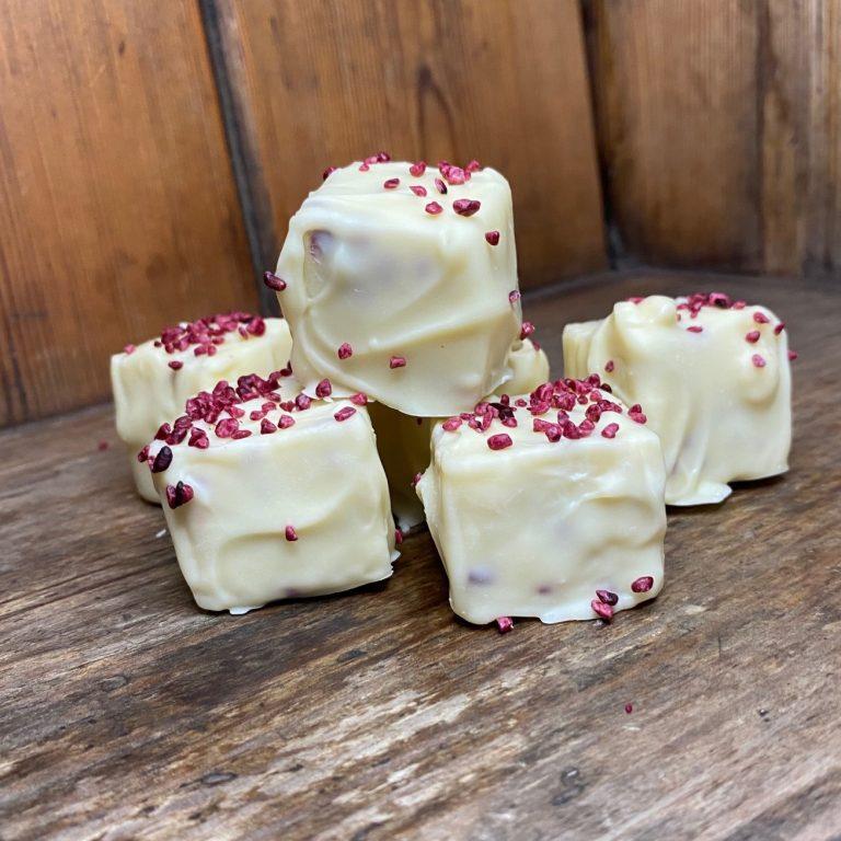 Lifetime of Chocolate Blackberry and Vanilla Fudge bites