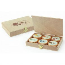 Dremeister Chocolate for Wine Wooden Gift Box (12 Coins)