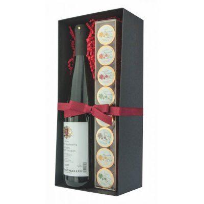 Dremeister White Wine & Chocolate Coin Gift Box