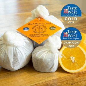 Orange and Cointreau Pudding