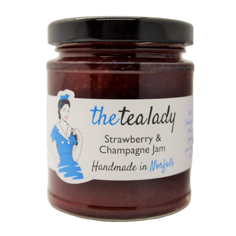 The Tea Lady Strawberry & Champagne Jam