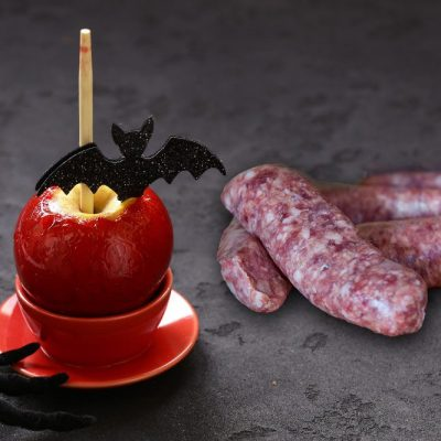 Toffee Apple Sausages